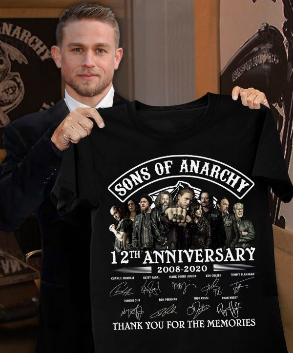 Sons Of Anarchy 12th Anniversary 2020 Thank You For The Memories