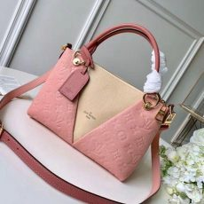 V Tote Bb Monogram Empreinte Leather M44455 Pink/creme Beige 2019 Collection