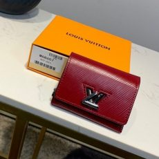 Twist Xs Epi Leather Flap Wallet M68607 Burgundy 2019 Collection