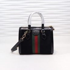 Ophidia small GG tote bag Black 24cm