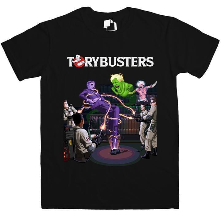 Ghostbusters Tory Busters Organize Strike Resist - Gift for Fans T-Shirt