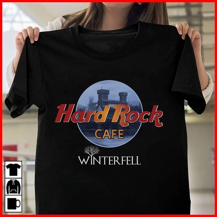 Hard Rock Cafe Winterfell Game Of Thrones - Gift for Fans T-Shirt