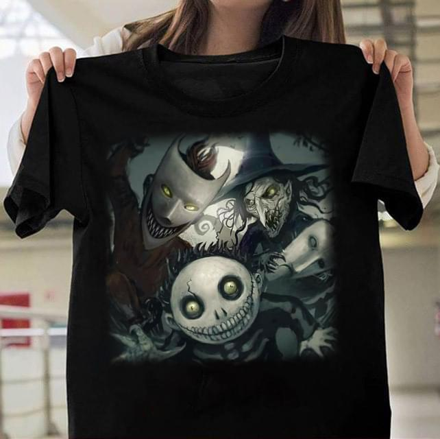 Lock Shock And Barrel Boogie'S Boys The Nightmare Before Christmas Jack Skellington Christmas Halloween Gift - Gift for Fans T-Shirt
