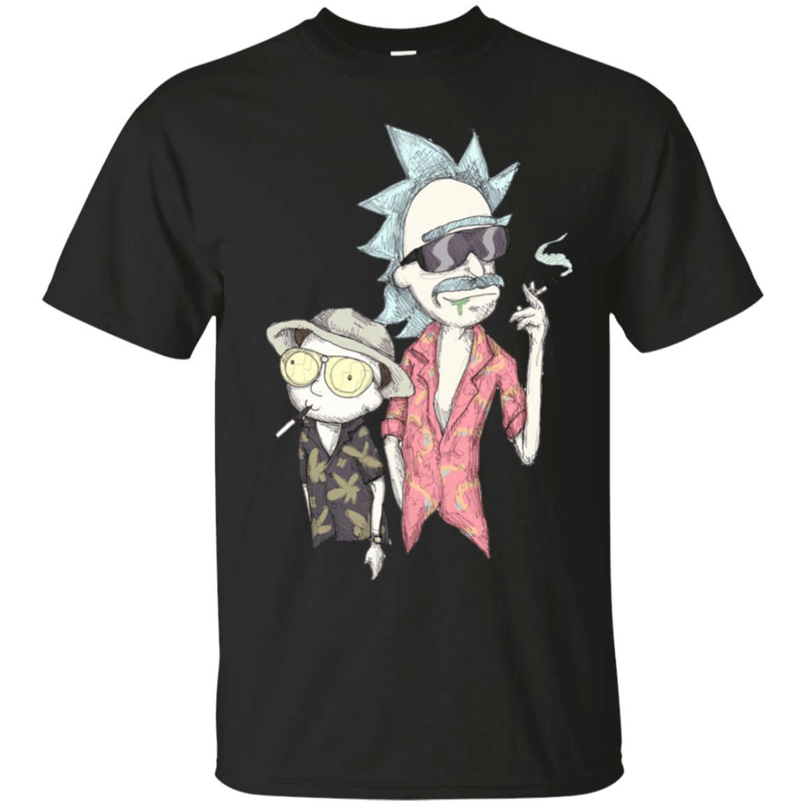 Rick And Morty Fear Loathing In Schwift Vegas Tshirt Tank Hoodie Graphic Tee Gift T-Shirt