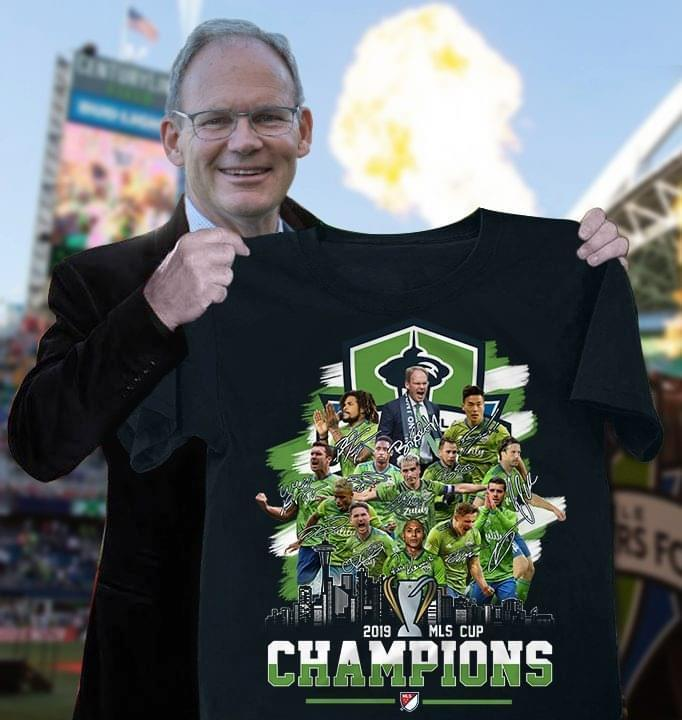Seatle Sounders Fc Mls Cup Champions 2019 - Gift for Fans T-Shirt