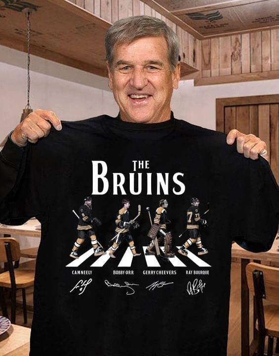 The Pittsburgh Bruins Abbey Road Signed - Gift for Fans T-Shirt