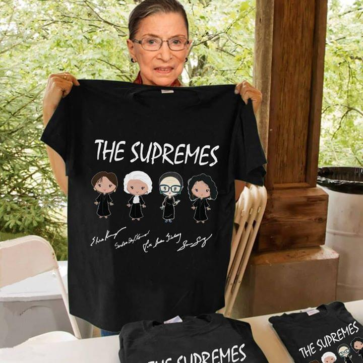 The Supremes Elena Sandra Ruth Sonia Signed - Gift for Fans T-Shirt