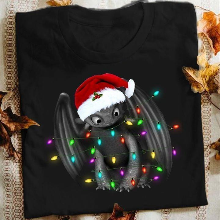Toothless Santa Christmas T Shirt - Custom Graphic Tee - Christmas Gift Idea T-Shirt