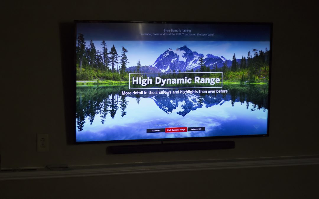 Vizio TV with wireless Soundbar