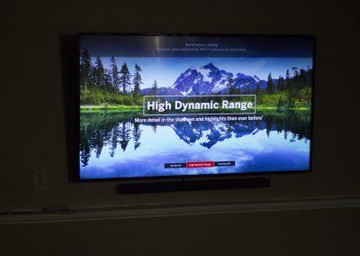 Vizio TV with wireless Soundbar