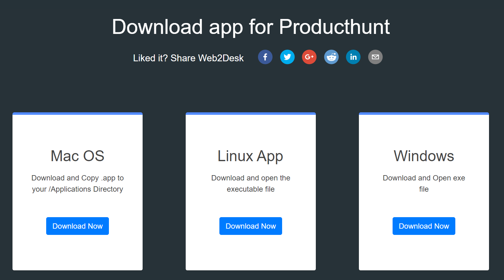 Linux Desktop apps