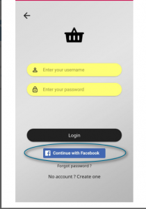 Social logins for apps provided by TmStore Alternative