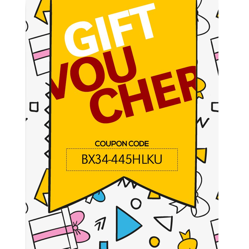 Gift vouchers provided by appmaker