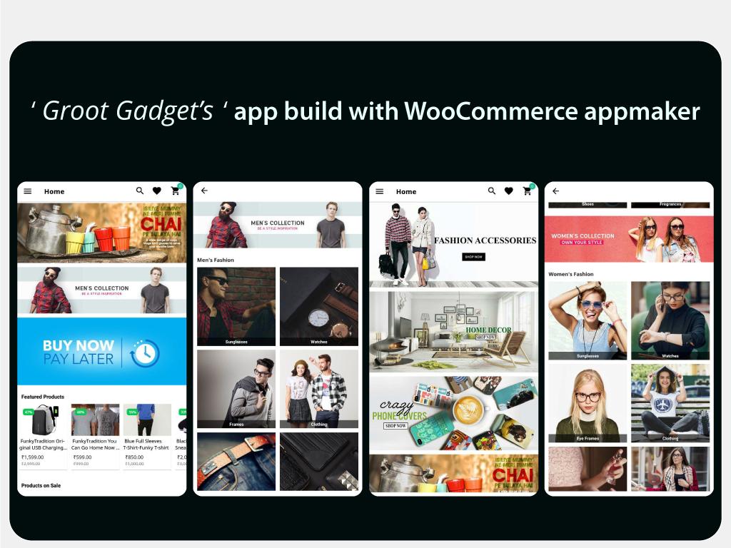 WooCommerce appbuilder- Appmaker