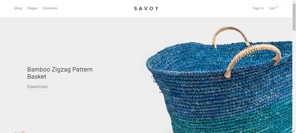 Savoy WordPress eCommerce theme