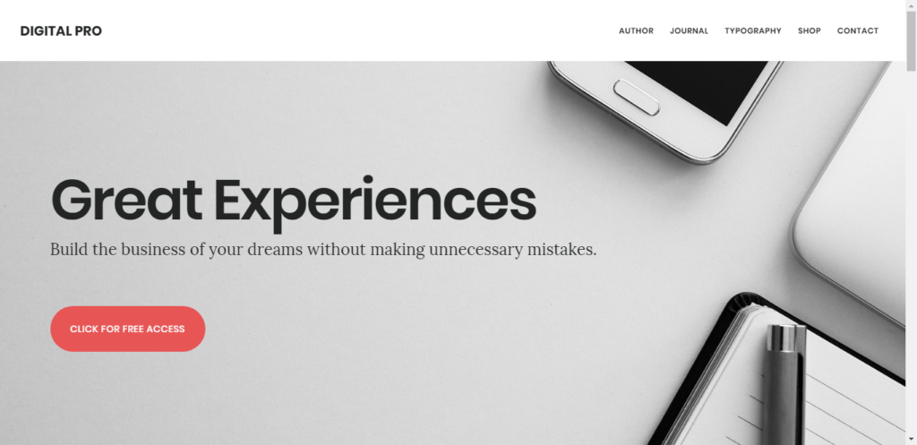 digitalpro the best woocommerce theme