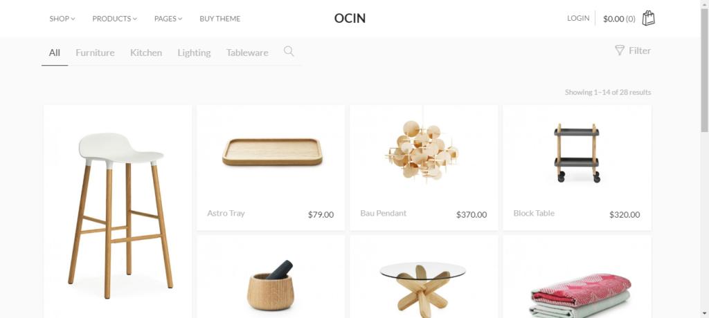 Premium themese for eCommerce store