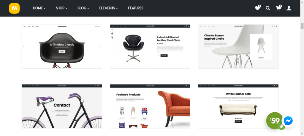 premium themes for WooCommerce sites