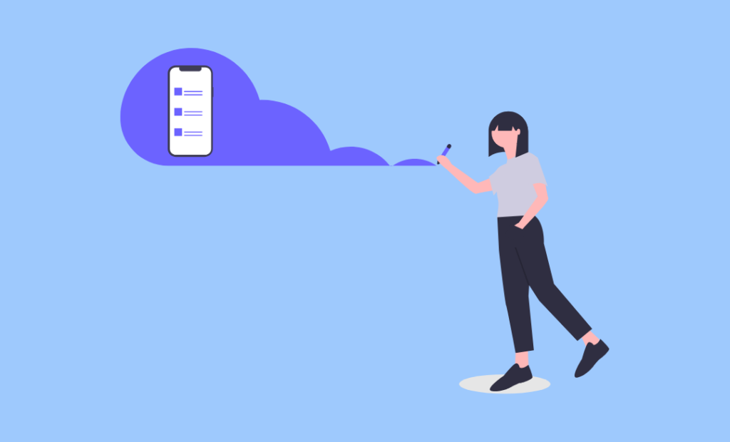 Animated image representing Firebase Cloud Messaging