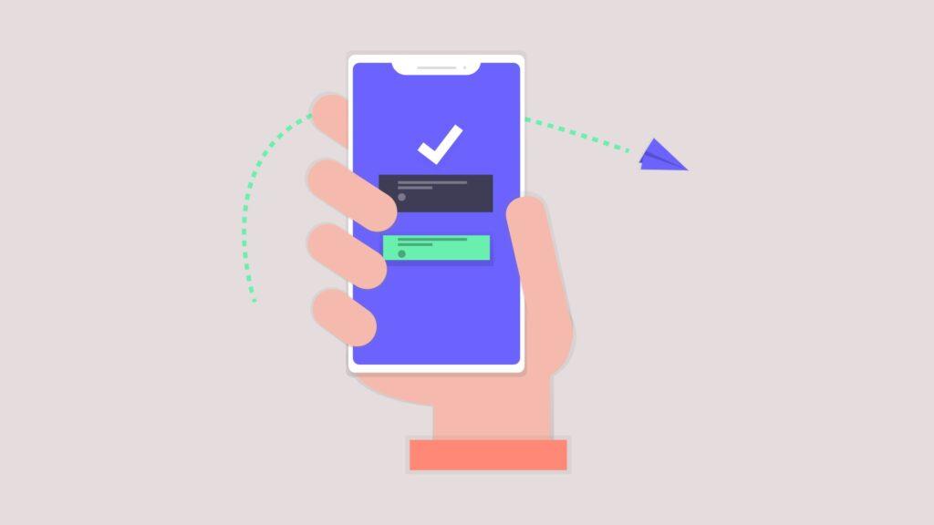 Sending push notifications for customer engagement