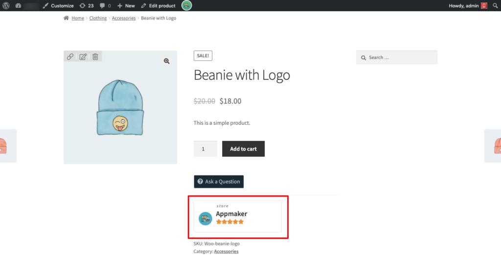 WCFM multivendor plugin - One of the Best Multi-Vendor Marketplace Plugins - Vendor name on the product detail page