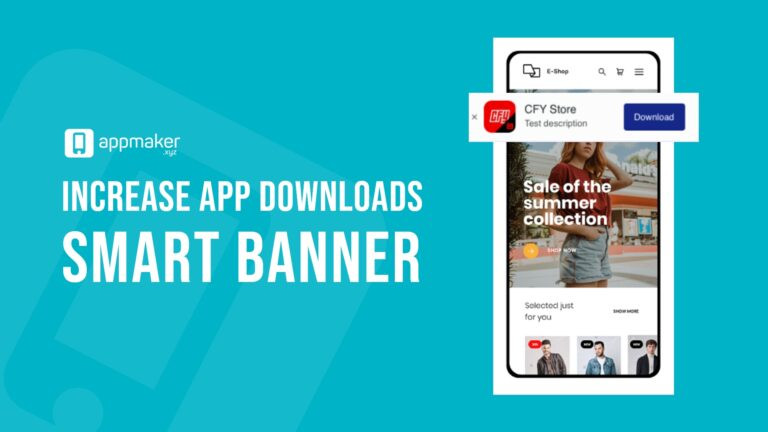 Increase app downloads usingSmart banner
