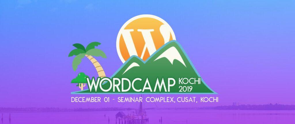 Banner image for WordCamp Kochi