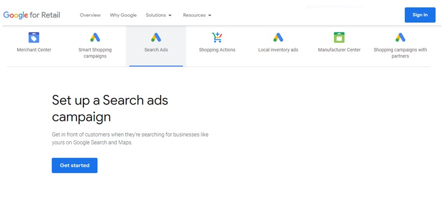 Google Merchant Ads