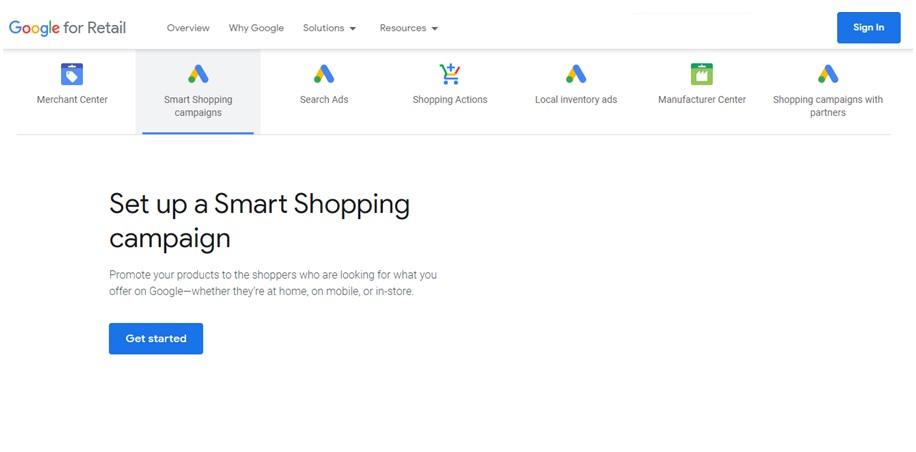Google Merchant Campaigns