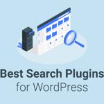 Search plugins for WordPress