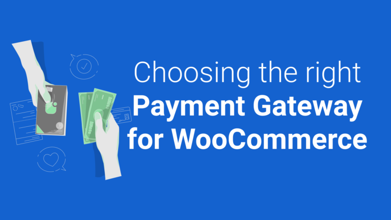 Choosing Payment for WooCommerce