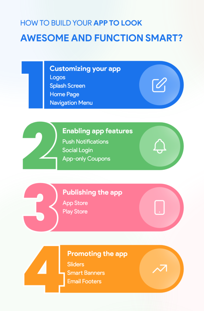 How to build your app