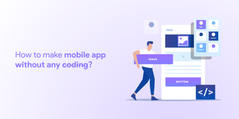 make a mobile app without coding
