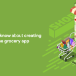 Creating no-code an online grocery app