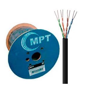 MPT - CABO U/UTP 4P CAT.5E CM (INT/EXT) PT(METRO)