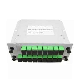 BOX CASSETE SPLITTER OPTICO 1*16 CONECTOR SC/APC