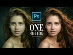 Photoshop Tutorial – Fix Skin Tones with One Button