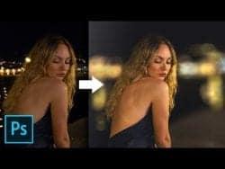 Photoshop Tutorial – A Simple Way to Add Beautiful Bokeh