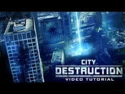After Effects Tutorial – City Destruction