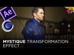 After Effects Tutorial – MYSTIQUE Transformation