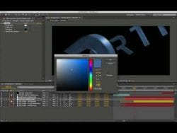 Cinema 4D Tutorial – After Earth Titles