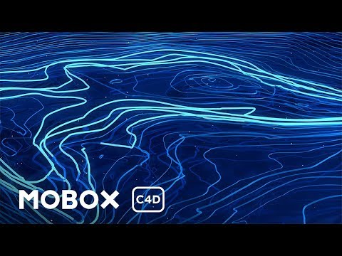 Cinema 4D Tutorial- Abstract Spline Animation