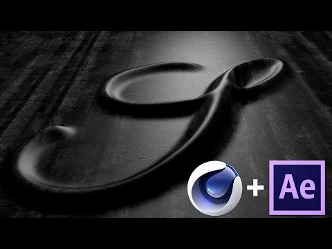Cinema 4D + AE Tutorial – Animating Engraved / Embossed Effect