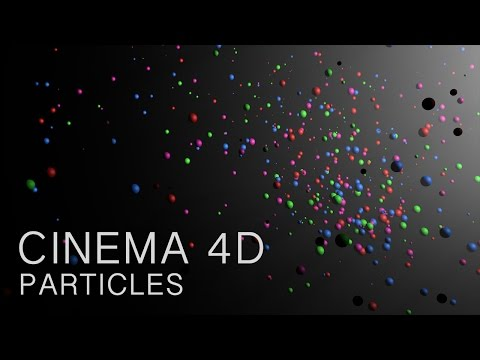 Cinema 4D Tutorial – Particles