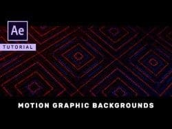 After Effects Tutorial – Motion Graphic Backgrounds