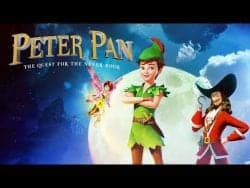PETER PAN :The Quest for the never book trailer.