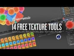 C4D Project Files -14 Free Texture Tools