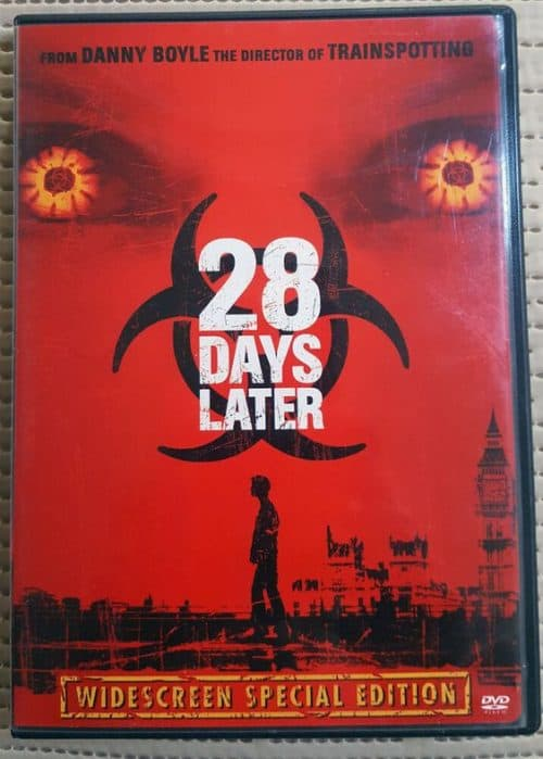 28 Days Later Key Art Movie Poster