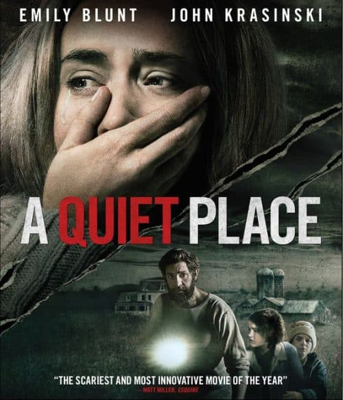 A Quiet Place Key Art Movie Poster