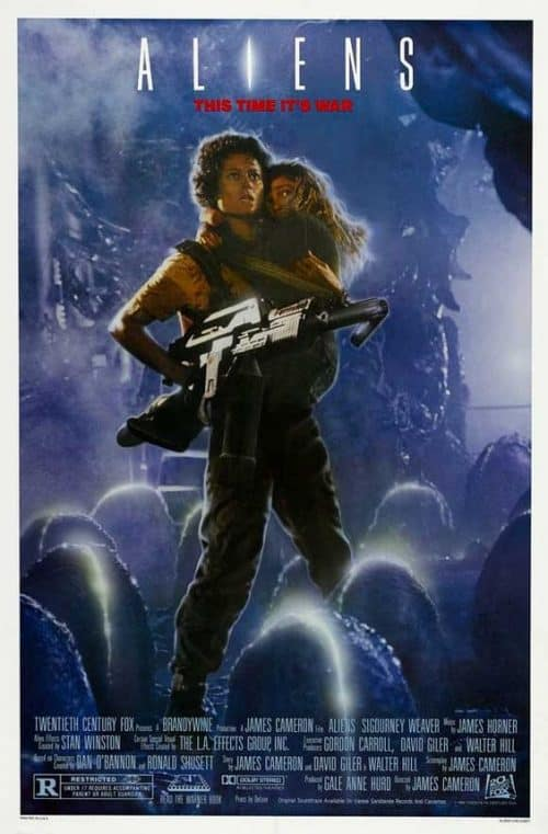 Aliens Key Art Movie Poster